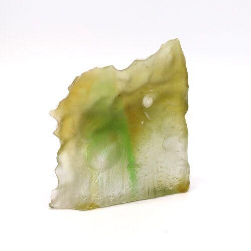 Glasstøbning i grønne nuancer